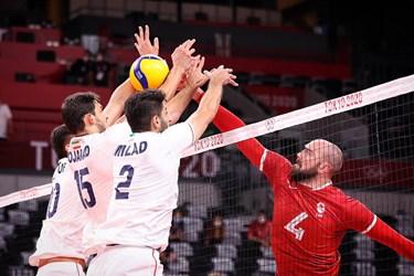 شکست والیبال ایران / 21 امتیاز اشتباه و تسلیم هیو در المپیک مقابل کانادا!
