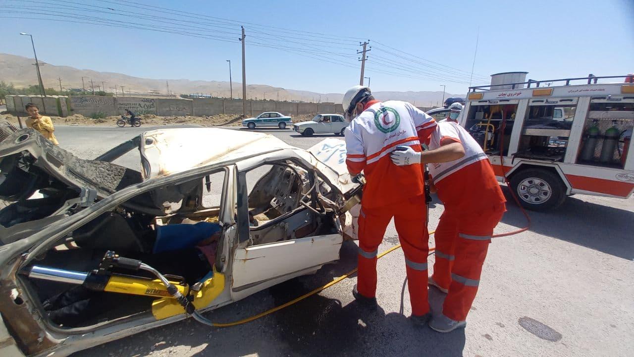 استراتژی نجات تصادفات جاده ای نهاوند