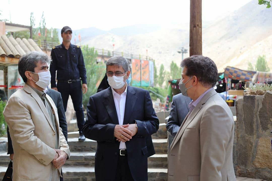 فرماندار حمیدان از گنجانامه بازدید کرد