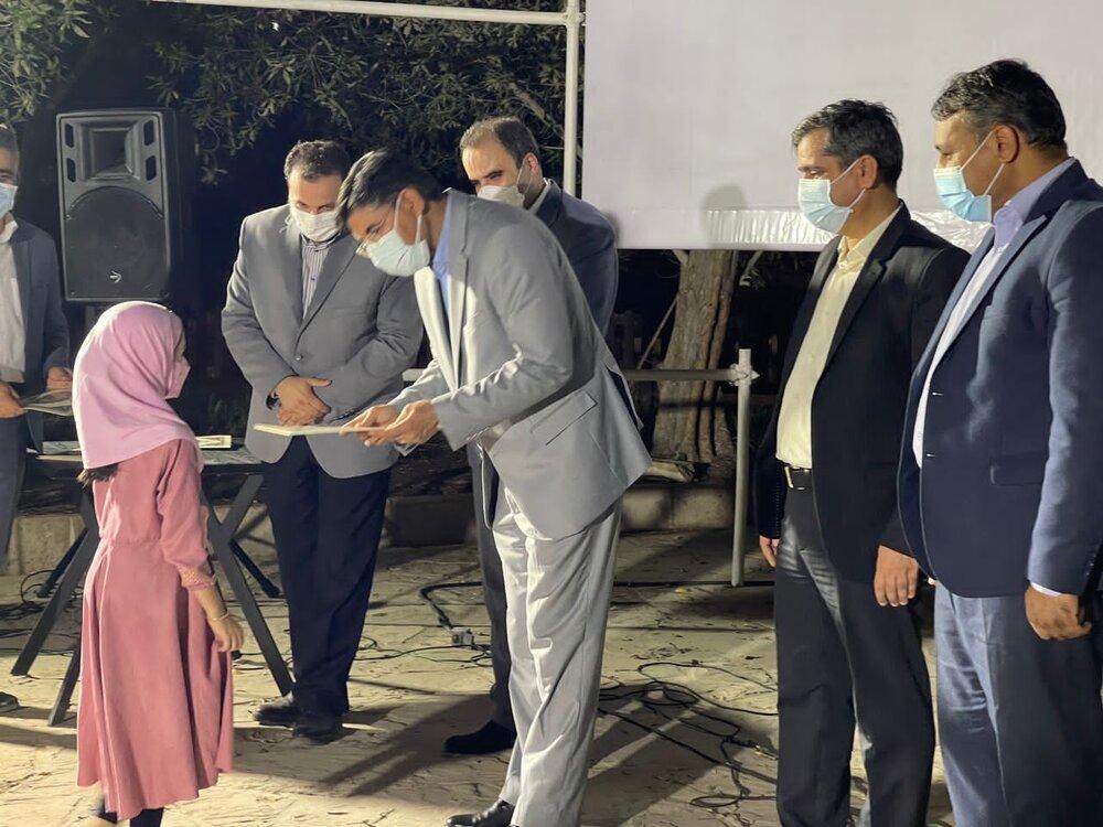 """مراسم اختتامیه عزاداری عاشورا """" رویداد قرمز """" در کشم برگزار شد"""