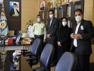 خانه مطبوعات استان کرمان از روسای پلیس کرمان تجلیل کرد